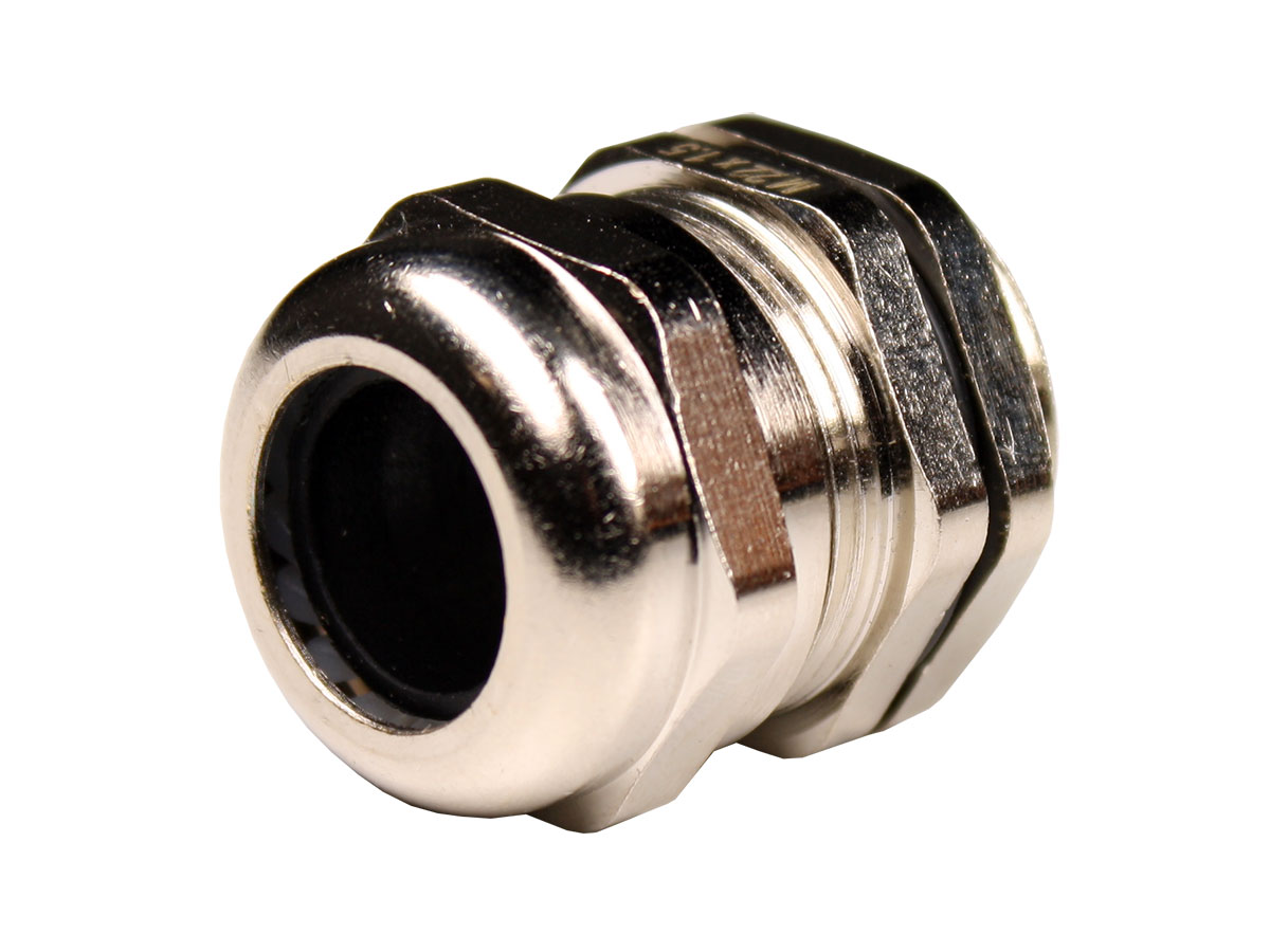 M12 x 1.5 Stainless Steel Cable Gland