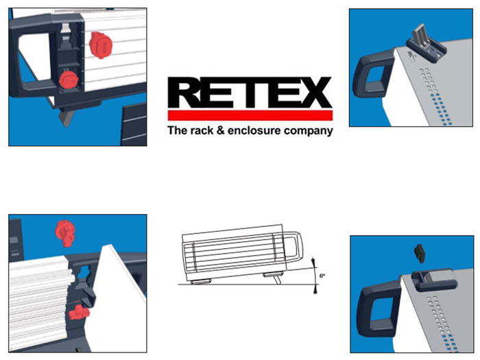 Retex Serie 110 - Caja Metálica Instrumento 300 x 100 x 220 mm - 31110005