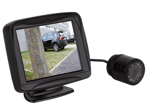Parking assistance Camera with Colour Display - CAMSET31