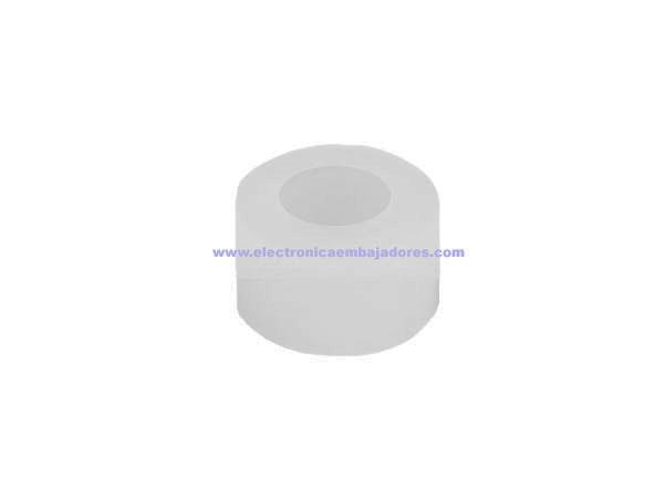 Separador Plástico sin Rosca 4 mm - SP9004