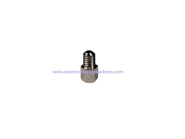 Metal Hexagonal Spacer - Metric 4 - Female - Male - 5 mm - SP1205