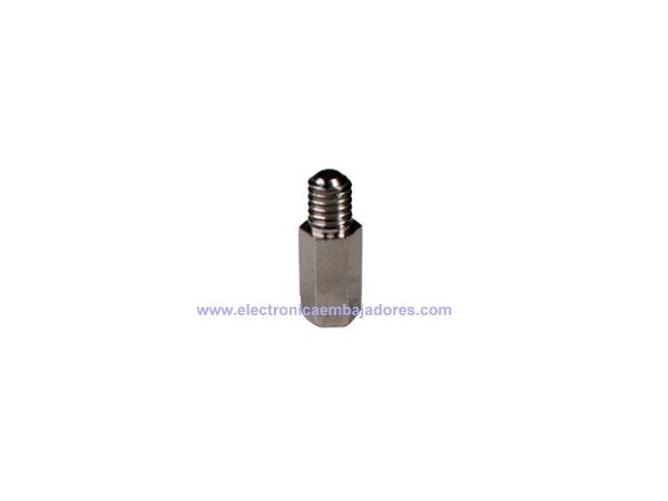 Separador Metálico Hexagonal Metrica 4 - Hembra-Macho - 10 mm - SP1210