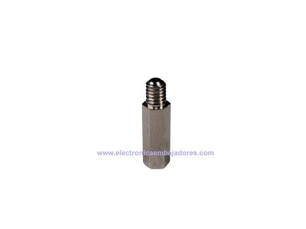 Metal Hexagonal Spacer - Metric 4 - Female - Male - 15 mm - SP1215
