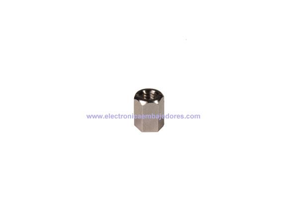 Separador de Metal Hexagonal Métrica 3 - Fêmea-Fêmea - 5 mm - SP1505