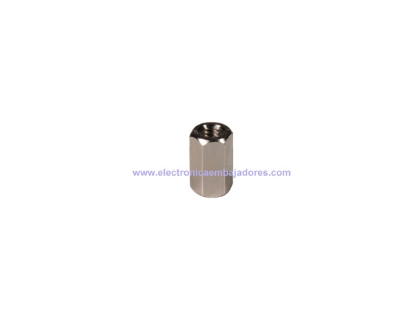 Metal Hexagonal Spacer - Metric 3 - Female - Female - 8 mm - SP1508