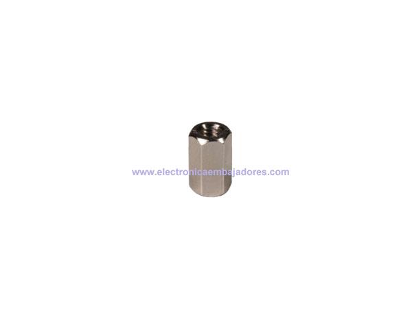 Separador de Metal Hexagonal Métrica 3 - Fêmea-Fêmea - 8 mm - SP1508