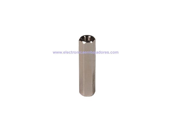 Metal Hexagonal Spacer - Metric 3 - Female - Female - 25 mm - SP1525
