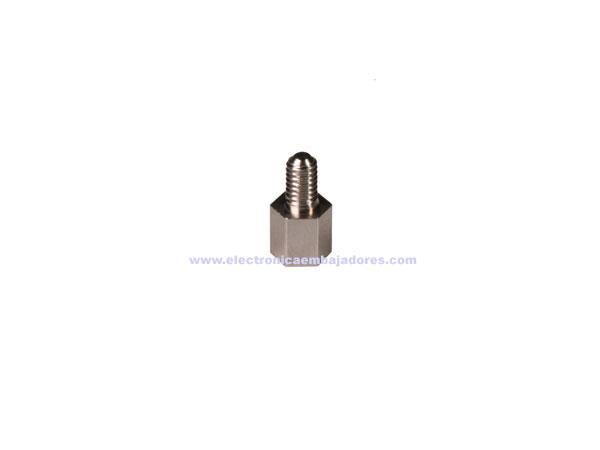 Separador Metálico Hexagonal Metrica 3 - Hembra-Macho - 5 mm - SP1105