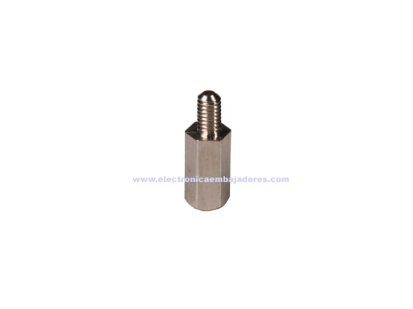 Metal Hexagonal Spacer - Metric 3 - Female - Male - 8 mm - SP1108