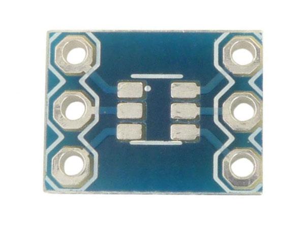 SOT-23 to DIP6 Adaptor - MR006-004.1
