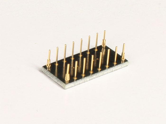 SOP16 to DIP16 Adapter Socket - Turned Pin - W9503RC