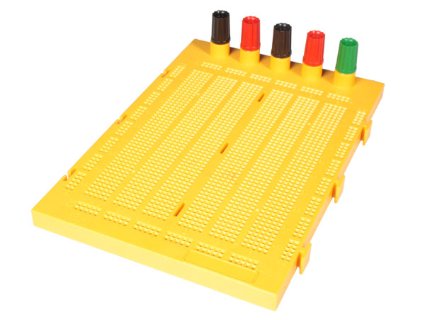 Breadboard - 1690 Tie Points with Binding Posts - MB10BA