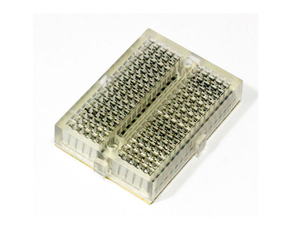 Breadboard - 170 Tie Points - Transparent - PRT-07916