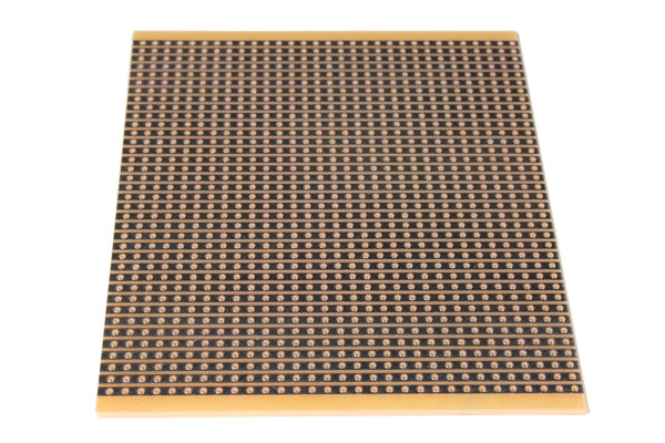 Bakelite Stripboard with Continuous Track 100 x 100 mm - BL-1016