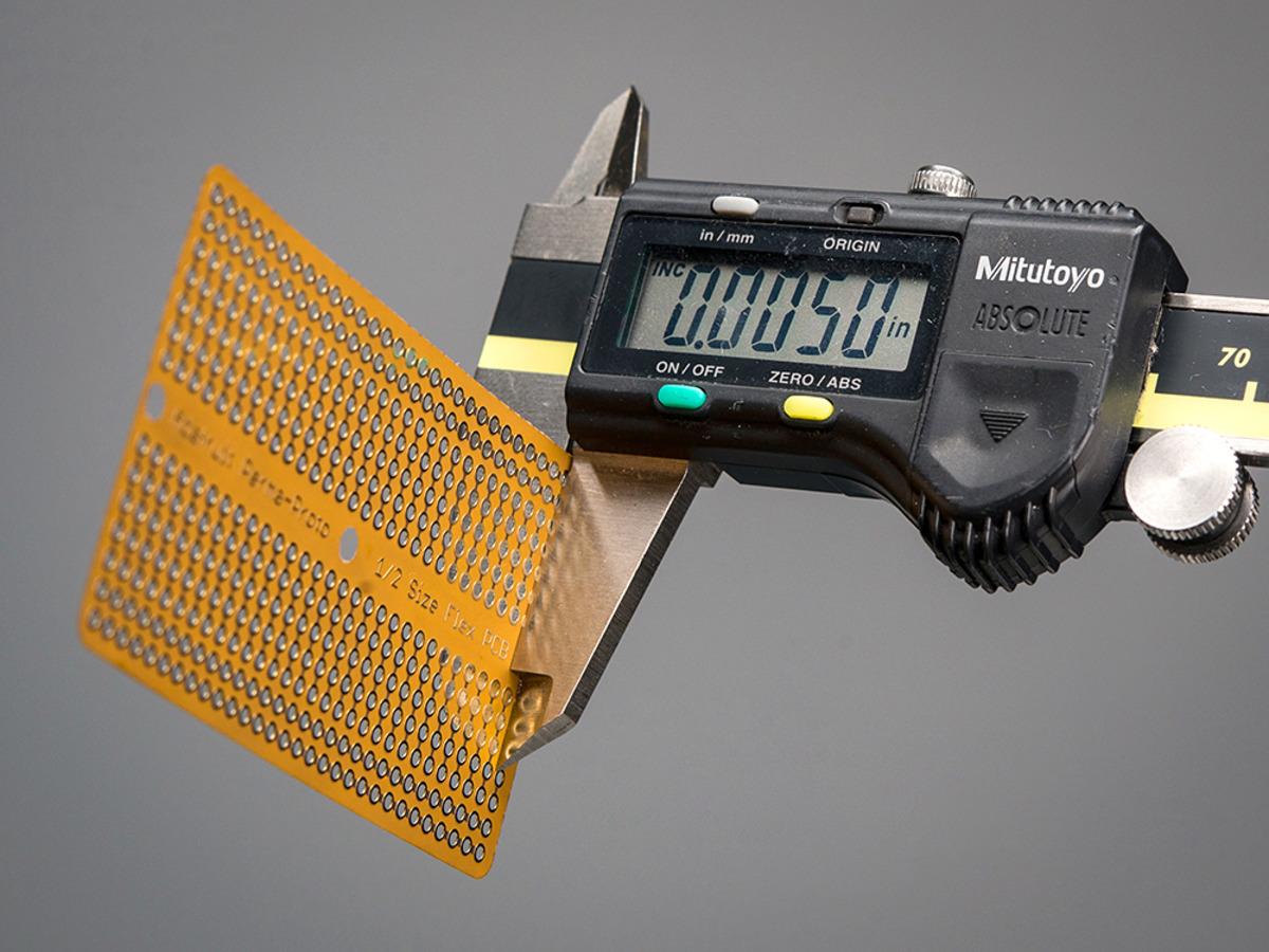 Adafruit Flex Perma-Proto - Half-size - Breadboard Flexible - 1518