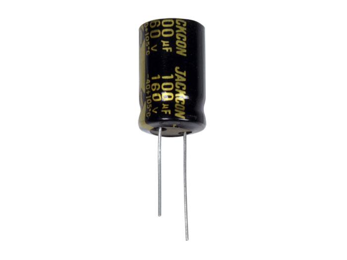 Daewoo RMU - Condensador Electrolítico Radial 100 µF - 160 V - 105°C