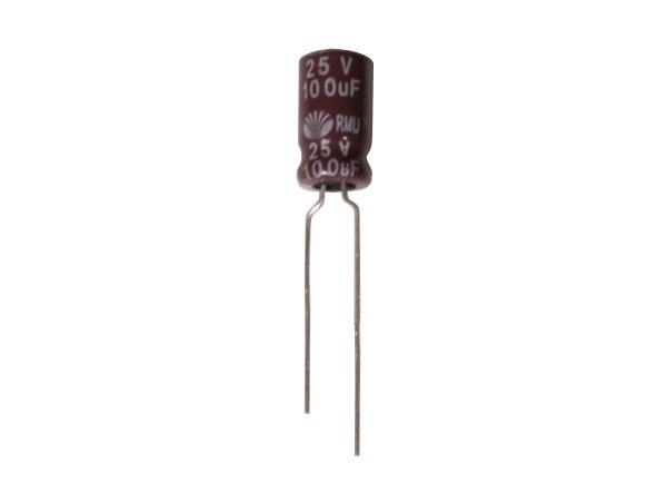 Condensateur Electrolytique Radial 100 µF - 25 V - 105°C