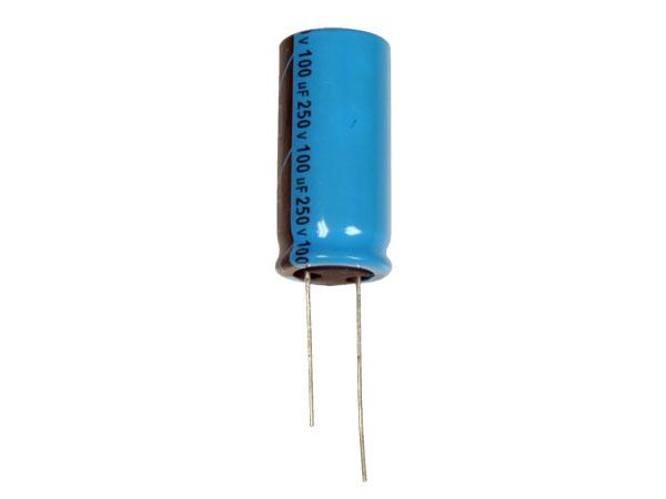 LELON REA - Condensador Electrolítico Radial 100 µF - 250 V - 85°C