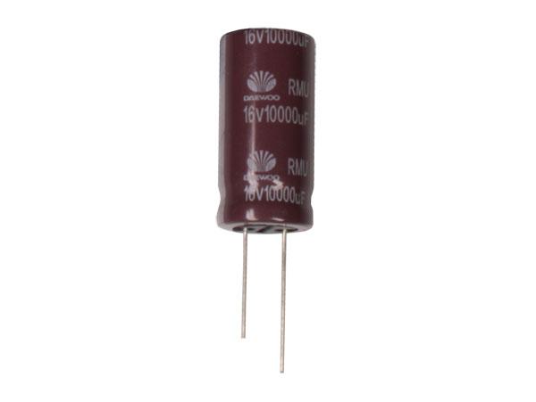 Radial Electrolytic Capacitor 10000 µF - 16 V - 105°C - 74098