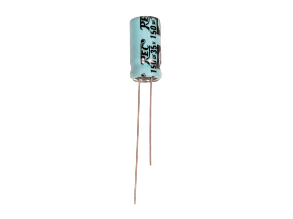 Radial Electrolytic Capacitor 150 µF - 35 V - 85°C