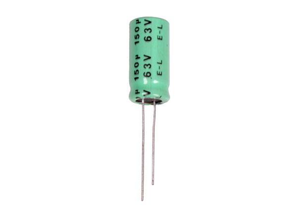 Radial Electrolytic Capacitor 150 µF - 63 V - 105°C