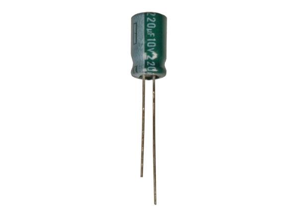 Radial Electrolytic Capacitor 220 µF - 10 V