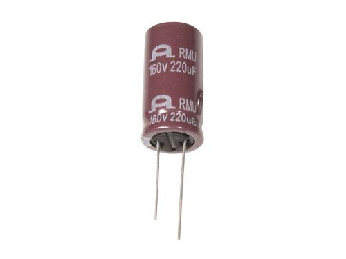 Condensador Electrolítico Radial 220 µF - 160 V - 105°C