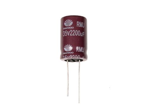 Condensateur Electrolytique Radial 2200 µF - 35 V - 105°C