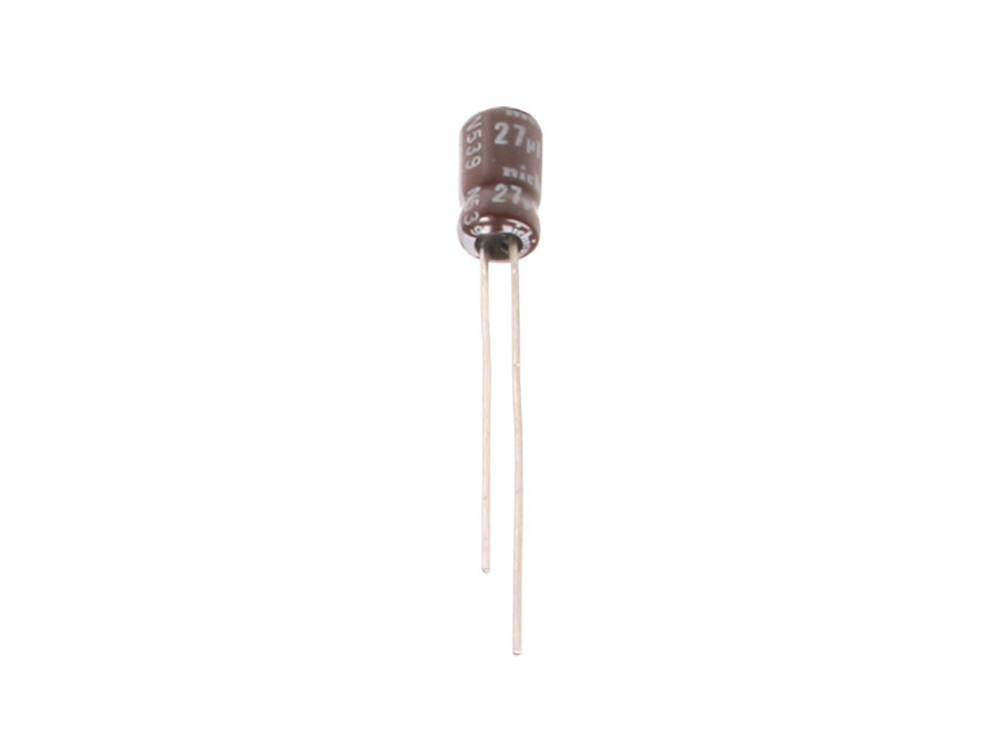 NICHICON - Radial Electrolytic Capacitor 27 µF - 6.3 V - 105 ° C - UPW0J270MDD1TE