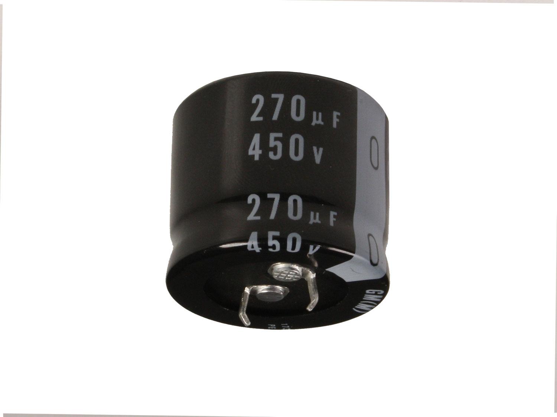 Condensateur Electrolytique Radial 270 µF - 450 V - 105°C - LGM2W271MELB25