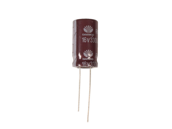 Radial Electrolytic Capacitor 3300 µF - 16 V - 105°C