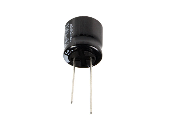 Condensador Electrolítico Radial 3300 µF - 6,3 V - 105°C