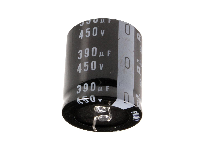 Condensador Electrolítico Radial 390 µF - 450 V - 105°C - LGM2W391MELB35