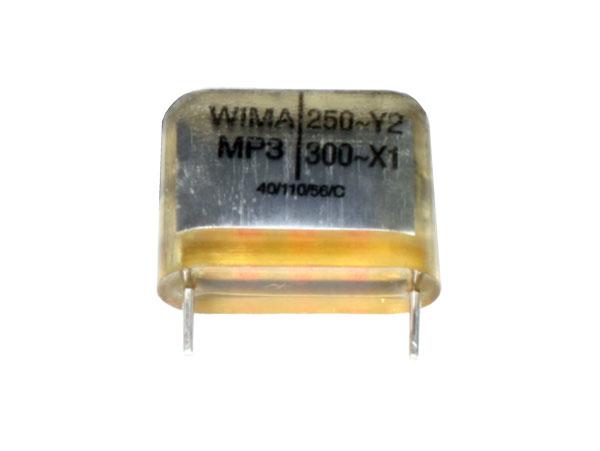 Condensador MP Encapsulado 22 nF - 250 Vac - Raster 10 mm