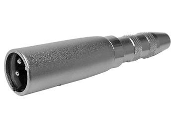 Adaptador jack 6,3 estéreo - XLR macho
