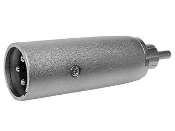 Adaptador RCA Macho - XLR Macho - CAA10