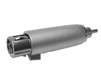 Male RCA to XLR Female Adapter - CAA13