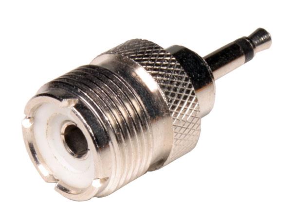 3.5 Mono Jack to UHF Female Adapter - CU13