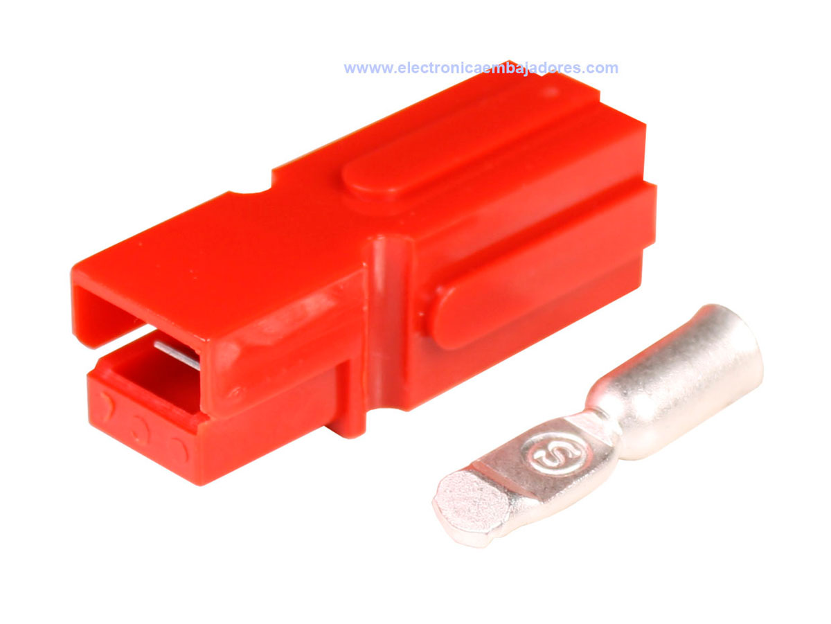 Conector Tipo Anderson® Powerpole® PP120 - Rojo - AWG4