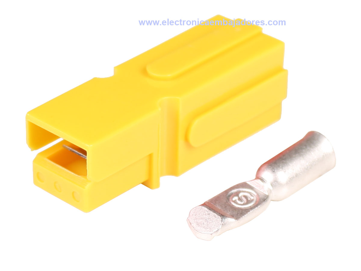 Anderson® Powerpole® PP180 Type Connector - Yellow - AWG2