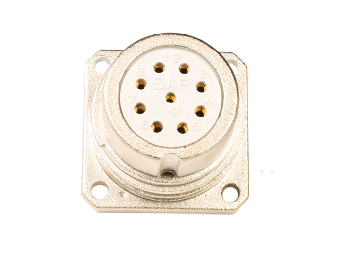 BHE20B10 (920225DS) - 10 contacts female receptacle size 20 circular connector