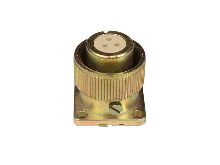 BHR10A3 (920913USD) - 3 contacts female receptacle size 10 circular connector