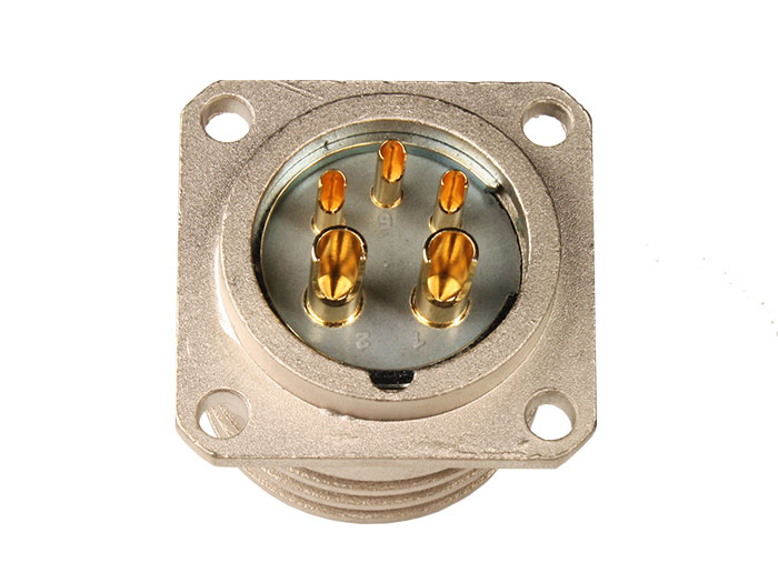BM20B5 (920225DP) - 5 contacts male receptacle size 20 circular connector