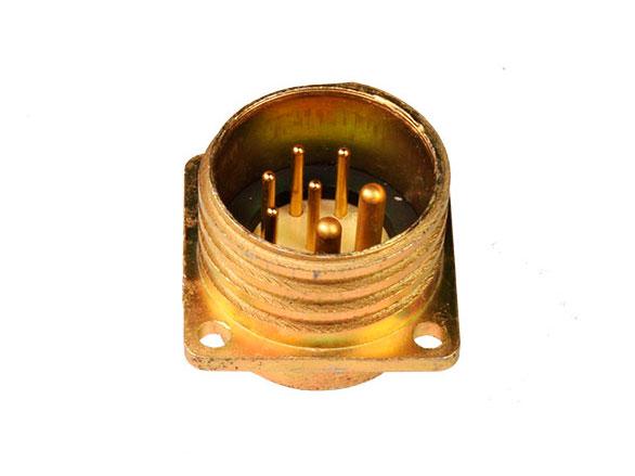 Ficha circular tamanho 20 base macho 7 pinos BM20B7 (920227XP)