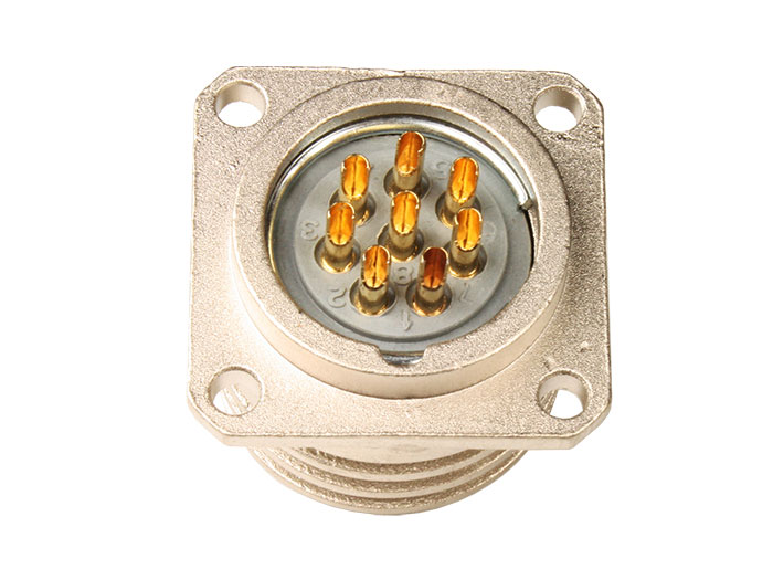 BM20B8 (920228TP) - 8 contacts female receptacle size 20 circular connector