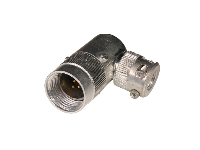 FMC10A3 (C920813UPD) - 3 contacts male size 10 right angle mount circular connector
