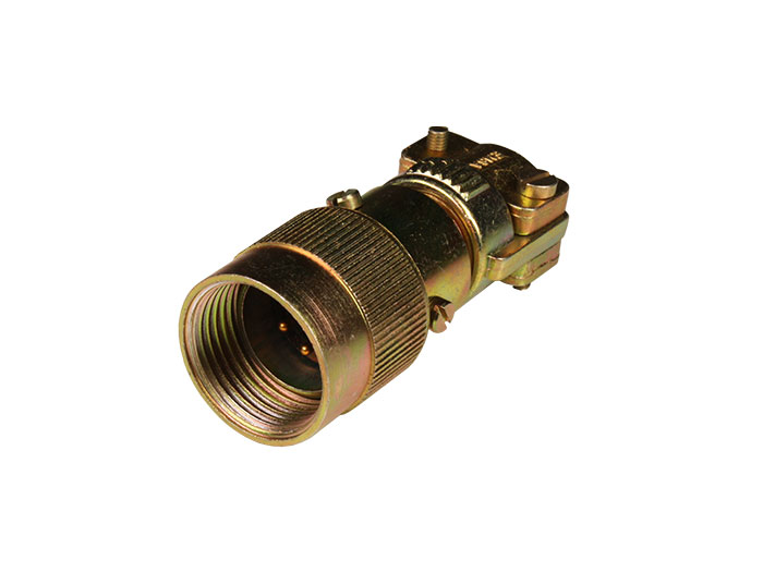 FMR10A4 (C920614VPD) - 4 contacts male size 10 in-line mount circular connector