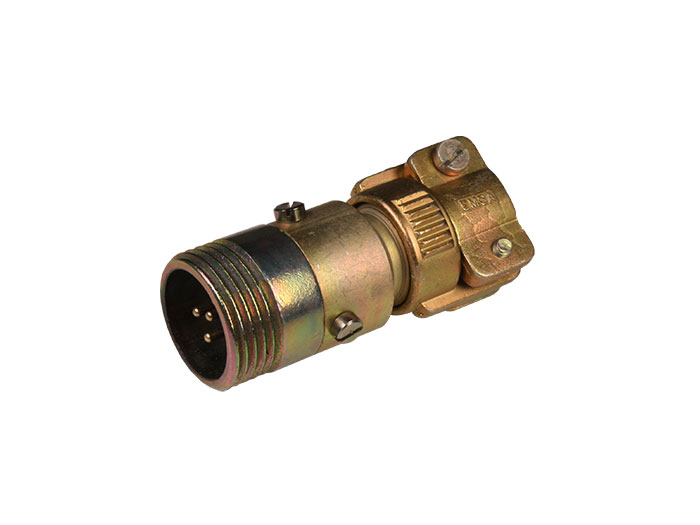 PMR10A3 (C920113UPD) - 3 contacts male size 10 circular connector extender