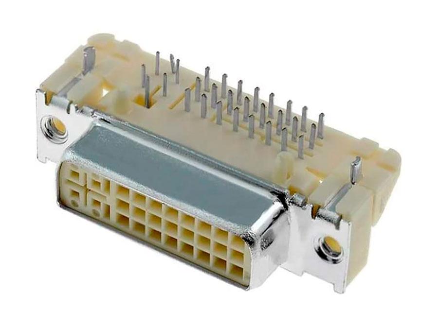 Molex - DVI Female Connector Printed Circuit Board - 29 Pins - 74320-1004