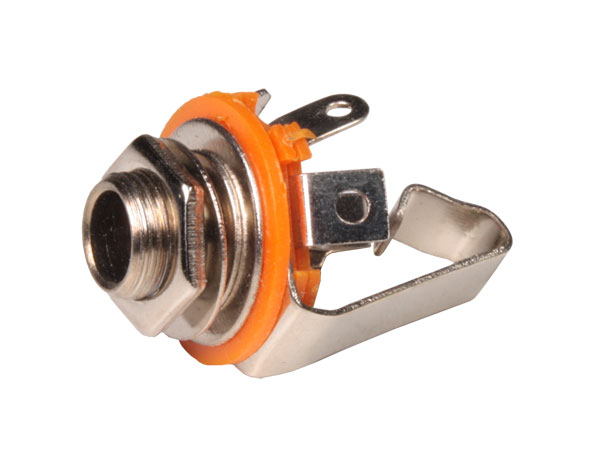 Connecteur Jack 6,3 mm Panneau Femelle 3 Pôles - Ouverte